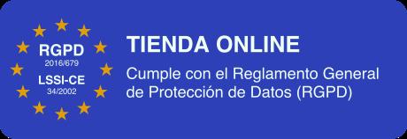 Cumple con el Reglamento General de Protección de Datos (RGPD)
